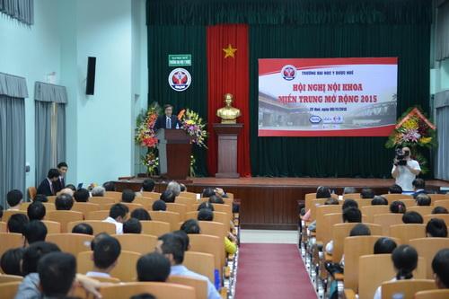 Hội nghị nội khoa miền trung mở rộng 2015